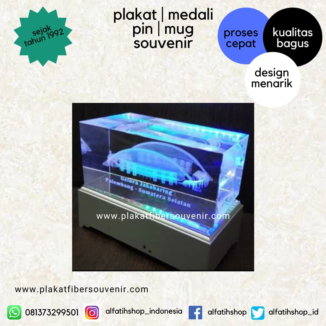 Plakat Crystal stadion Jakabaring Sumsel