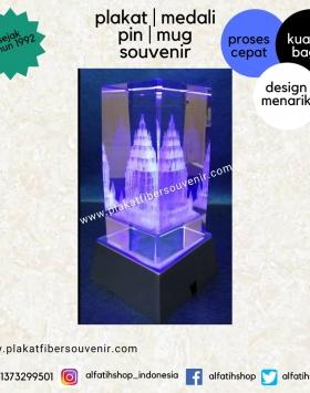 Plakat Crystal Miniatur Candi