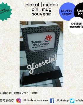 Plakat Kayu Telkom Indonesia