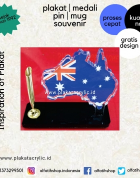 Plakat Akrilik Miniatur Australia