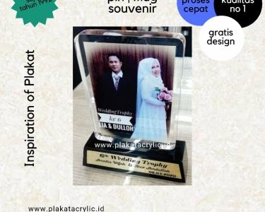 Plakat Akrilik Pernikahan